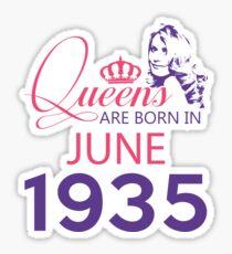 It's My Birthday 83. Made In June 1935. 1935 Gift Ideas. Sticker