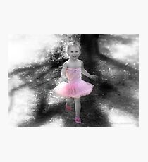 """""""Pretty In Pink"""" - Live With A Purpose! Photographic Print"""