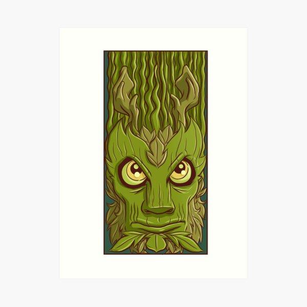 Earth elemental Art Print