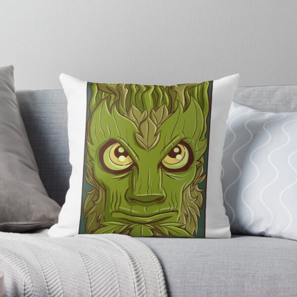 Earth elemental Throw Pillow