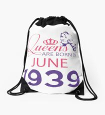 It's My Birthday 79. Made In June 1939. 1939 Gift Ideas. Drawstring Bag