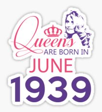 It's My Birthday 79. Made In June 1939. 1939 Gift Ideas. Sticker