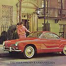Karmann Ghia.. Vintage Fifties by edsimoneit