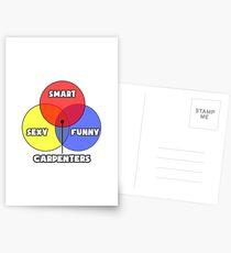 Venn Diagram - Carpenters Postcards