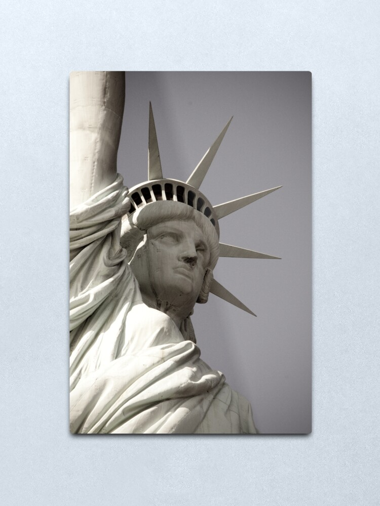 Alternate view of Liberty Metal Print