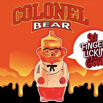 Finger Looking Good Bear by Italianricanart