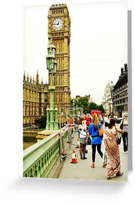 Smile Please: Tourists and Big Ben by DonDavisUK
