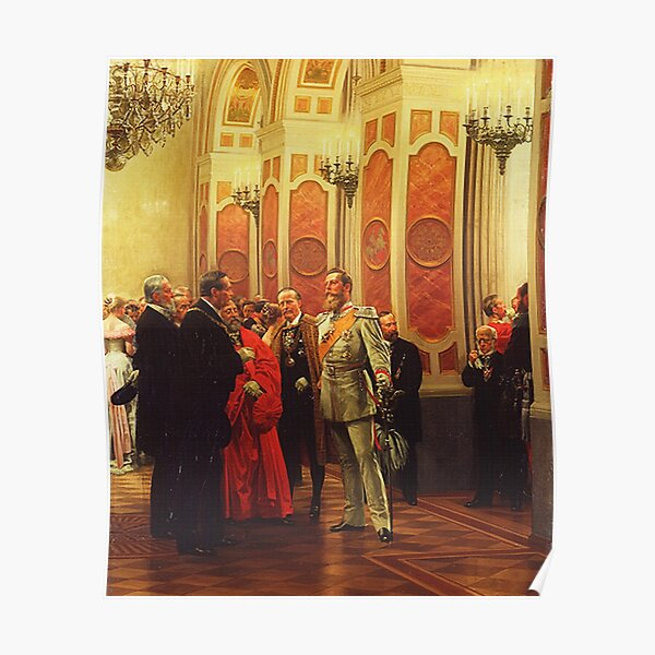 Kaiser Friedrich III as Crown Prince in 1878 Poster