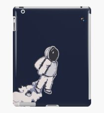 Brian The Poostronaut Evacuates To Outer Space iPad Case/Skin