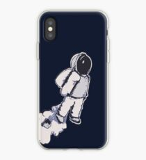 Brian The Poostronaut Evacuates To Outer Space iPhone Case