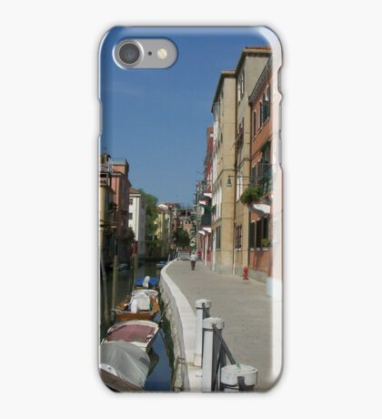 Fondamenta del Battello  iPhone Case/Skin