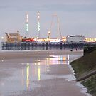 SOUTH PIER . BLACKPOOL by Lilian Marshall