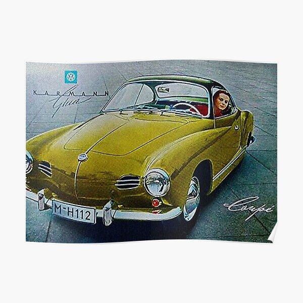 Karmann Ghia, Fabulous Fifties Poster