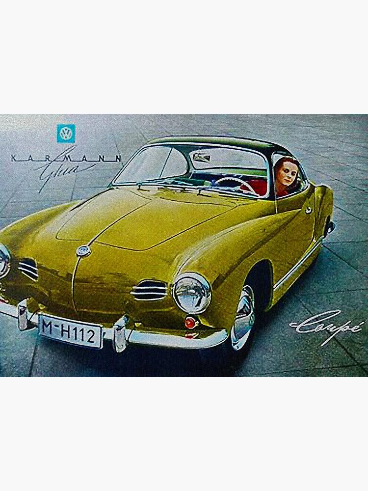 Karmann Ghia, Fabulous Fifties by edsimoneit