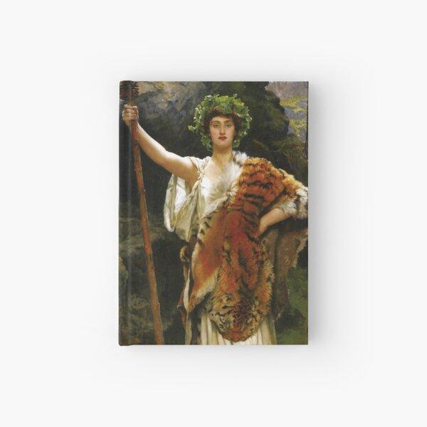 A Priestess of Bacchus - John Collier Hardcover Journal