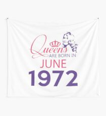 It's My Birthday 46. Made In June 1972. 1972 Gift Ideas. Wall Tapestry