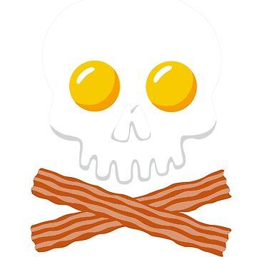 Breakfast Skull by FanaticTee