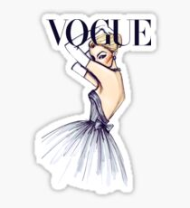 Vogue Girl Sticker