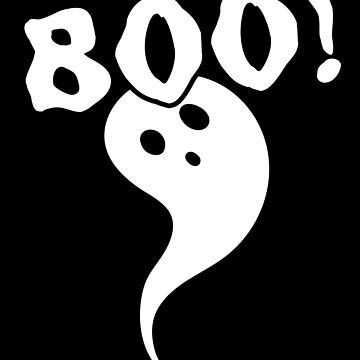 Boo! Spooky Ghost by Switch01