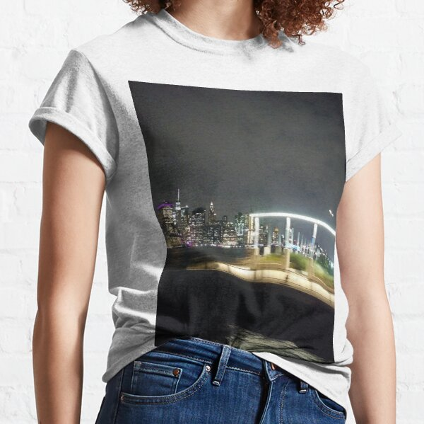 #Port, #crane, #ship, #industry, #sea, #cargo, #harbor, #dock, #shipping, #industrial, #night, #container, #water, #transportation, #transport, #cranes, #boat, #sky, #harbour, #nightlight, #reflection Classic T-Shirt