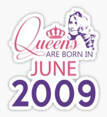 It's My Birthday 9. Made In June 2009. 2009 Gift Ideas. Sticker