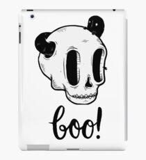Skull Boo iPad-Hülle & Klebefolie