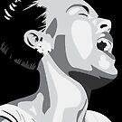Billie Holiday Lady Day Illustration  by brilliantblue