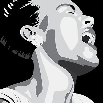 Billie Holiday Lady Day Illustration  by brilliantblue