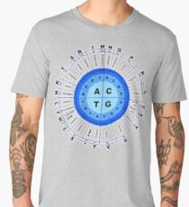 DNA, Genetic Code, Circle, Gene, Codon, Amino Acid, Men's Premium T-Shirt