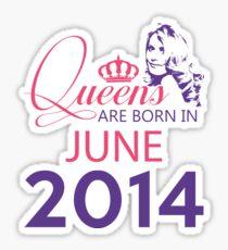 It's My Birthday 4. Made In June 2014. 2014 Gift Ideas. Sticker
