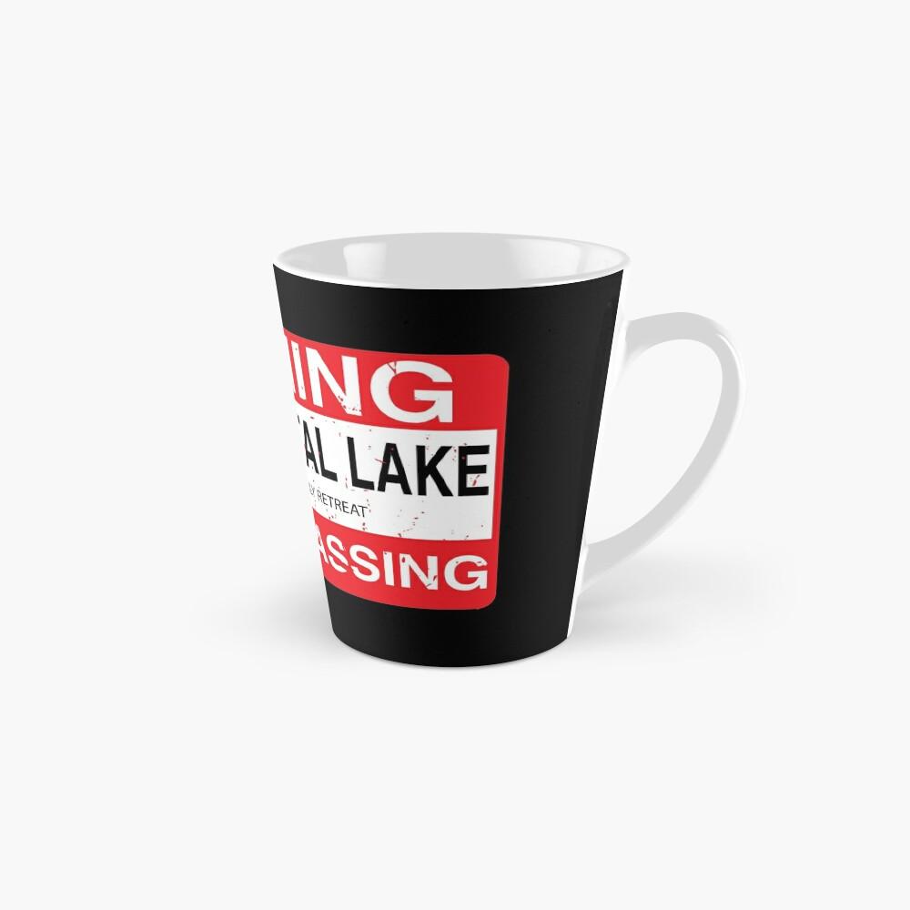 Cam Crystal Lake no trespassing Mug