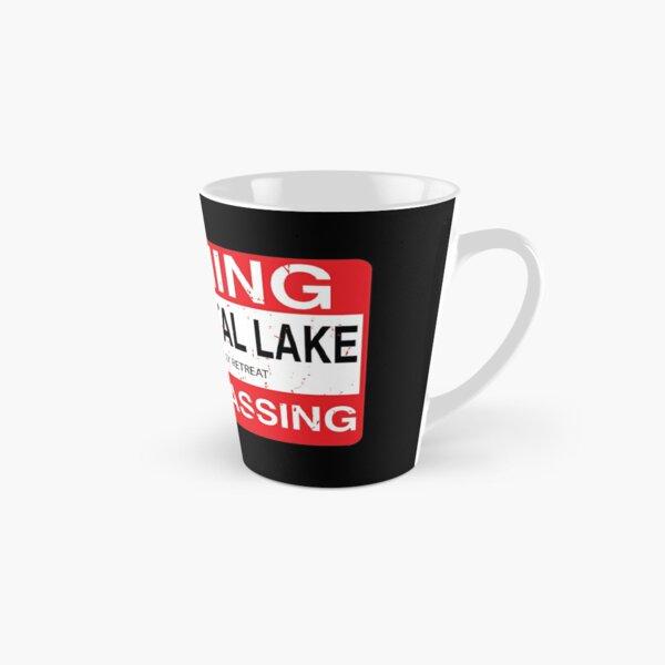 Cam Crystal Lake no trespassing Tall Mug