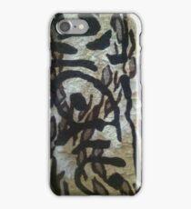 Oriental Zebra by Sherri Nicholas iPhone Case/Skin