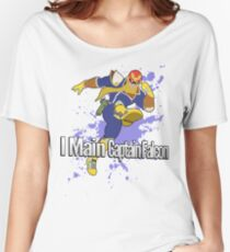 I Main Captain Falcon - Super Smash Bros. Women's Relaxed Fit T-Shirt