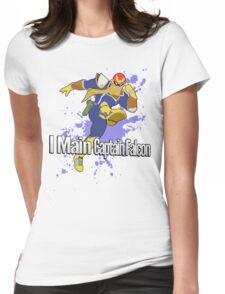 I Main Captain Falcon - Super Smash Bros. Womens Fitted T-Shirt
