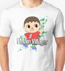 I Main Villager - Super Smash Bros. T-Shirt