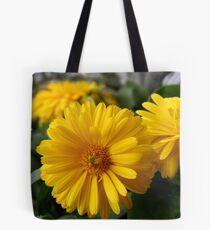 Yellow Chrysanthemum  Tote Bag