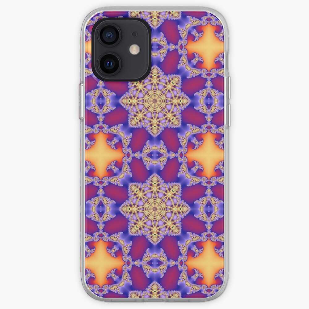 Kaleidoscopic Colorful Pattern iPhone Case & Cover