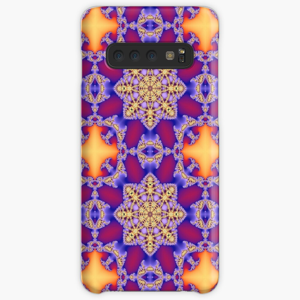 Kaleidoscopic Colorful Pattern Case & Skin for Samsung Galaxy