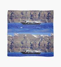 Below the Cliffs Of Santorini Scarf