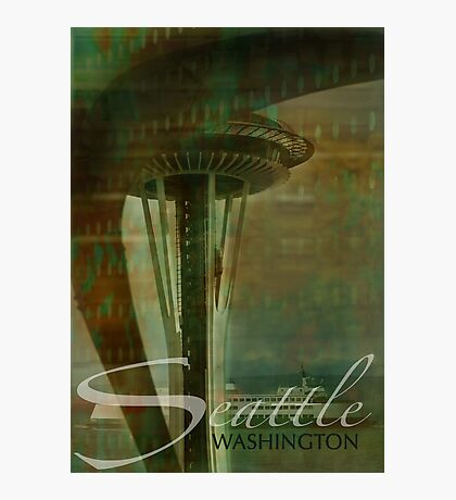 Layers of Seattle Photographic Print