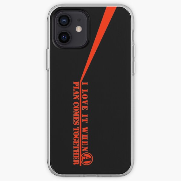 The A-Team: I Love It When A Plan Comes Together iPhone Soft Case