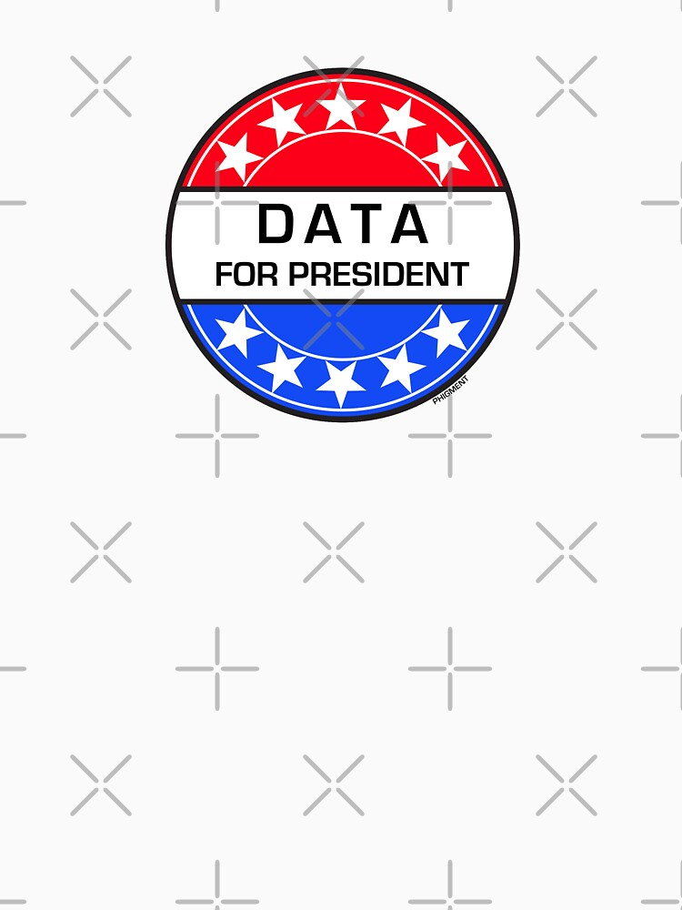 DATA FOR PRESIDENT by phigment-art