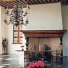 A Dining Hall - Laarne Castle - Belgium  by Gilberte
