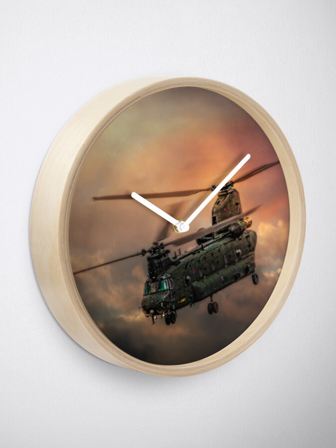 Alternate view of Heavy Metal Clock