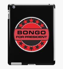 Bongo For President iPad Case/Skin