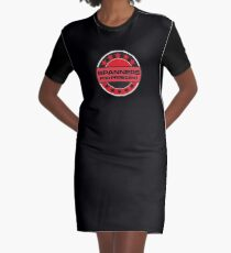Spanners For President Graphic T-Shirt Dress