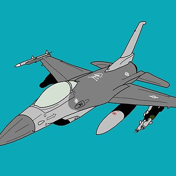 "F-16 ""Fighting Falcon"" Viper by JeepsandPlanes"