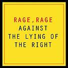 Rage, Rage by emilypageart