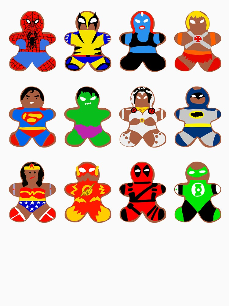 Superhero Gingerbread Man by notsniwart